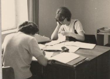 Datenverarbeitung 1960 - auf Papier