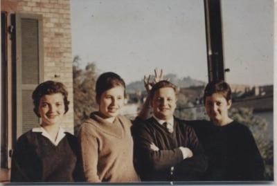 Bei Kurka im Jahr 1960 - ein Schnappschuss